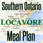 southern ontario locavore meal plan