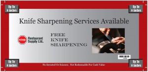 knife sharpening coupon